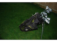 ProTactTic Pro Control Oversize LEFT-Handed Golf Clubs and TechMax Stand Bag