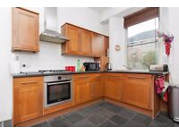 Bright and contemporary 1 bedroom flat with box room in Broughton available July – NO FEES