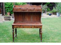 Unique handmade wood desk/Bureau from Rajasthan India