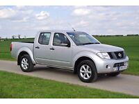 Nissan Navara 2.5dCi 2014 Silver. Nationwide Delivery. 19K Only, Towbar/Electrics, A/C, Bluetooth