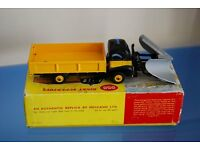 Dinky Supertoys 958 Snow Plough (with rare silver plough). A limited edition collectible excellent