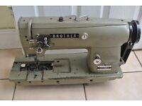 Brother TWIN NEEDLE FEED INDUSTRIAL Sewing machine WITH REVERSE