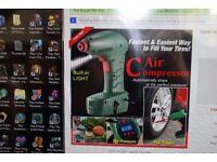 portable tyre air compressor