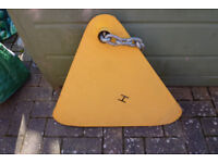 Large triangle and chain wheel clamp