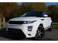 Range Rover Evoque in White for Chauffeur Car Hire | Prom Car | Wedding Car | Range Rover Sport