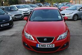 SEAT IBIZA 1.4 SE Copa 5dr (red) 2012