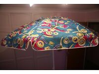 Beach or Patio Parasols (Hardly been used x 2) £20.00 each