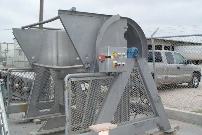 Used Freshline Double Bin and Tote Dumper Stainless