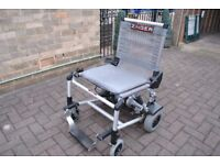 Zinger-Lightweight-Folding-Electric-Wheelchair-with-armrests