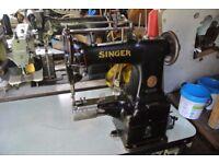 SINGER 47K63 CYLINDER ARM WALKING FOOT Industrial Sewing Machine