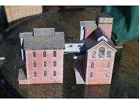 Model railway buildings x 10 for sale  Norwich, Norfolk