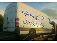 Wanted Mercedes Sprinter Van Parts 2006 +
