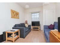 Attractive, desirable, 2 bedroom 1st floor flat in private development off Leith Walk available July