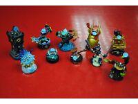Various Skylanders Character Figures for Sale