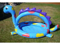 Inflatable 2 in 1 Dinosaur ballpit and playpool
