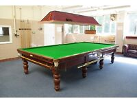 Full Size Snooker Table + Extras