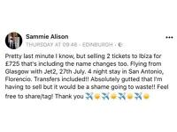 4 Night Stay for 2 in Ibiza ☀️✈️☀️✈️
