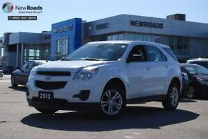 2013 Chevrolet Equinox LS LS, AWD, NO ACCIDENT, ONE OWNER
