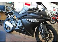 Yamaha YZF125R ABS, Only 10 Miles, 2 Mths Old **FINANCE ARRANGED**