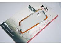 JOB-LOT Tech21 Impact Mesh Clear Case for Samsung Galaxy S5 GT-I5500 JOBLOT