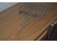 Charcoal Grill Mesh / Mangal Meat and Fish Grill / BBQ Wire Grid/ + charcoal