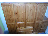 Large wardrobe with drawers – excellent condition - will consider offers