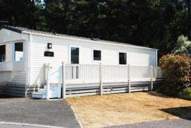 Abi Trieste mobile home, sleeps 6, located at Oakdene Forest Park, Dorset, BH24 2RZ
