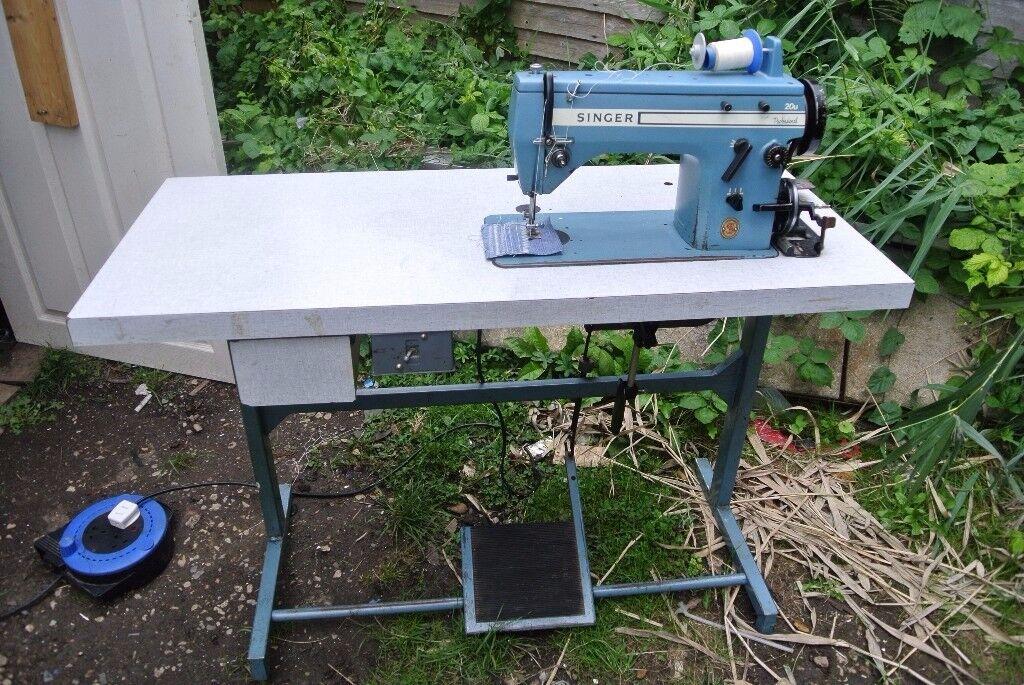 Singer 20U Freehand Embroidery Zig Zag Heavy duty sewing machine