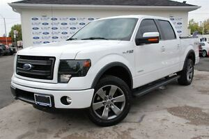 2014 Ford F-150 Supercrew 4X4 Ecoboost V6 *Tonneau Cover