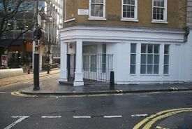 4/5 desk private office space in serviced building West End/Trafalgar/Haymarket