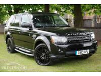 LAND ROVER RANGE ROVER SPORT 3.0 SDV6 HSE BLACK EDITION AUTO [255 BHP] (black) 2013