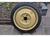"""Mazda 3 (2003-09) 15"""" Toyo Space Saver Spare Wheel (E60 T115/70D15 90M)"""