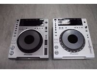 Pioneer CDJ-850 Pair White and Silver £900