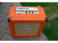 Orange Tiny Terror Guitar Amplifier combo 15w - ultimate all valve practice amp Celestion