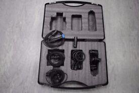 DPA Condenser Microphone Set. 3 x DPA4022 1 x DPA4011 £6000