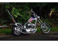 Captain America - Replica Custom Harley Davidson