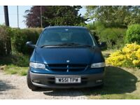 Chrysler Grand Voyager TD LE 2.5 5dr - Long MOT, Excellent Condition