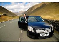 Black Cadillac BLS, automatic, turbo diesel, excellent runner, 12 months MOT, woman owner