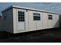 2 Portacabin type units. One suitable for disabled living. Requires internal finishing.
