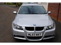 BMW 320D M SPORT AUTO 2007 BRILLIANT VALUE AT ONLY £4795 DRIVES SUPERBLY P/X POSSIBLE