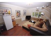 Two double bedroom flat with off St Parking and communal gardens. large bright open plan recep / kit