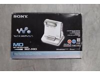 Sony MZ-N10 Walkman Portable MiniDisc Recorder Boxed Complete Grey £88