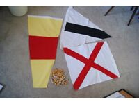 Marine: signalling code flags