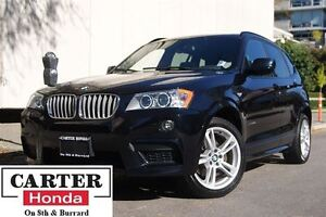 2014 BMW X3 xDrive28i + M-SPORT PKG + YEAR-END CLEAROUT!!