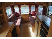 2 Berth Swift Sandymere Special Edition Caravan with Motor Mover