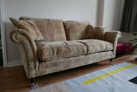 Parker Knoll Burghley large sofa and armchair RRP over £2300