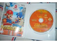 Mario & Sonic At The Olympic Games - Nintendo Wii - Boxed complete