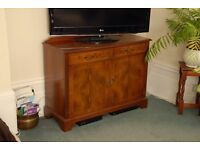 Large wood TV cabinet / sideboard