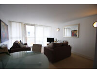 2 bedroom, 2 bathroom Docklands E14 flat with secure parking and concierge