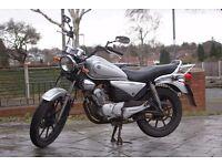 Yamaha YBR 125cc Custom 58 plate Spares or Repair